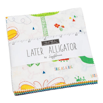 Later Alligator Charm Pack by Sandy Gervais
