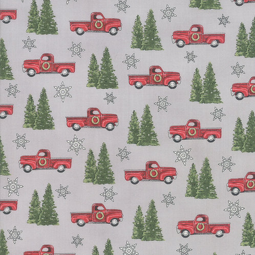 Homegrown HolidayTrucks and Trees Grey By Deb Strain for Mod