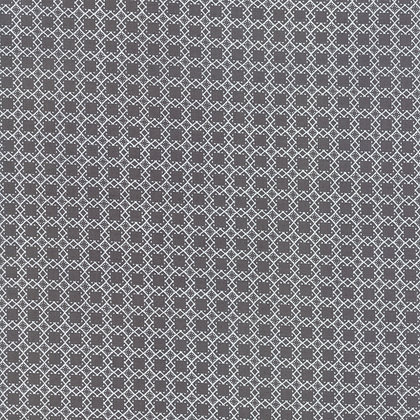Bloomington Charcoal Mini Latice By Lella Boutique for Moda Fabric