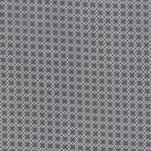 Bloomington Charcoal Mini Latice By Lella Boutique for Moda Fabric