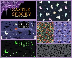 Castle Spooky By Lewis & Irene