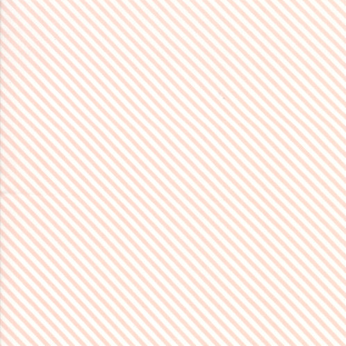 Bloomington Posie Pink Candy Stripes By Lella Boutique for Moda Fabric