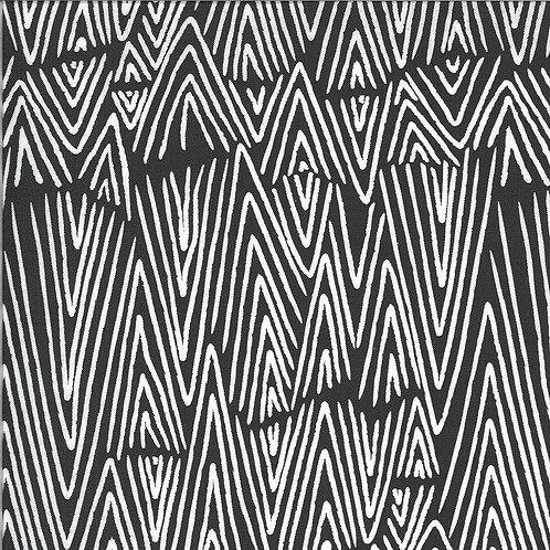 Zoology   Charcoal Mud Cloth by Gingiber For Moda Fabrics