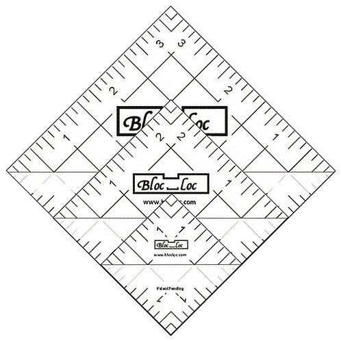 Half Square Triangle Ruler Set 4