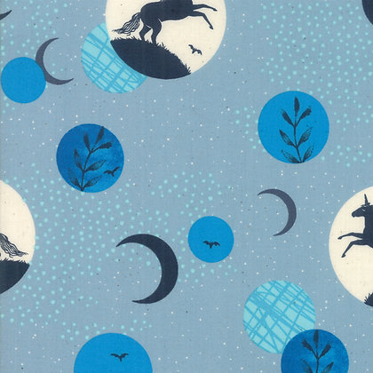 Crescent Soft Blue By Sarah Watts