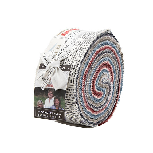 Branded Jelly Roll By Sweetwater For Moda Fabrics
