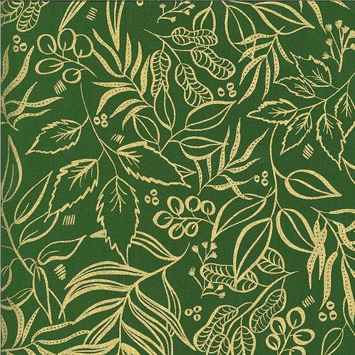 Moody Bloom   Metallic Jungle By Create Joy Project For Moda Fabrics