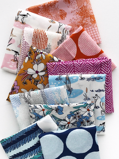 Terrestrial Fat Quarter Bundle BY SARAH WATSON