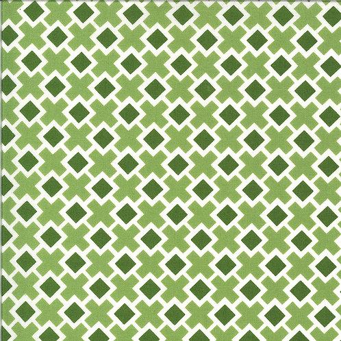 Homestead Fancy Tile Leaf By April Rosenthal For Moda Fabrics