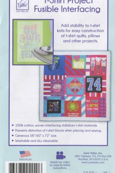 T-Shirt Project Fusible Interfacing 60in x 72in