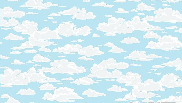 Sea Breeze Cloud Yellow By MakowerUK