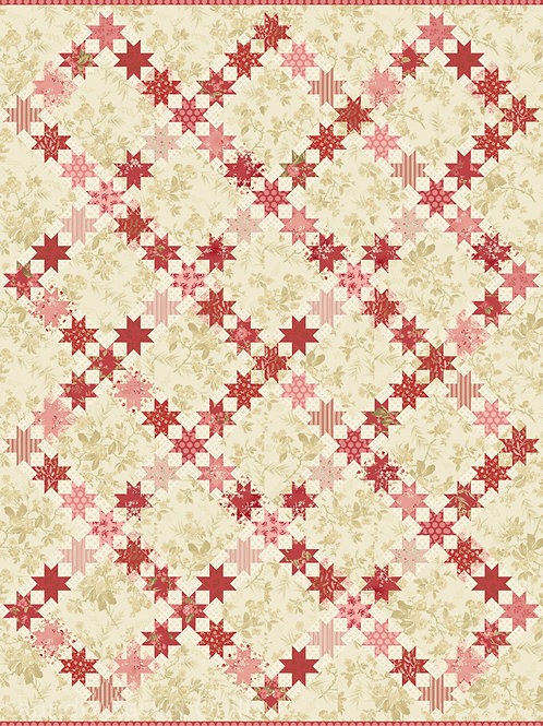 Aurora Quilt Pattern By Laundry Basket Quilts