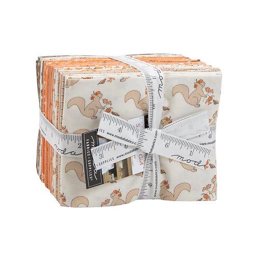 Squirrelly Girl Fat Quarter Bundle by Bunny Hill Designs for Moda Fabrics