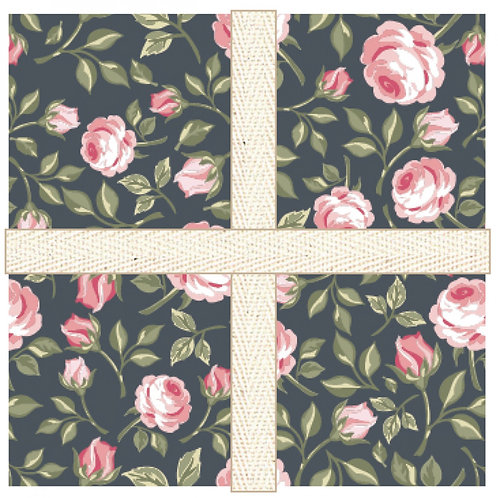 """Gingham Farmhouse  Charm Pack 5"""" by Lori Woods"""