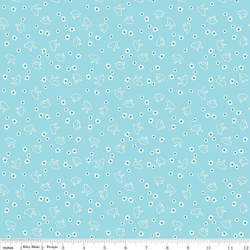 Wide Back Bee Backings & Borders Chick Aqua