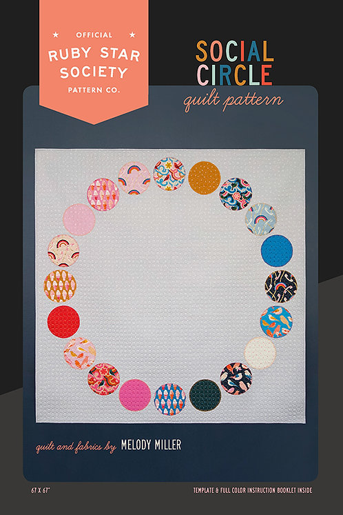 Social Circle Quilt Pattern by Ruby Star Society