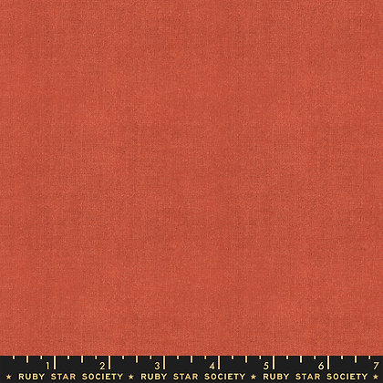 Warp & Weft Wovens Cross Wave Persimmon By Alexa Abegg For Ruby Star Societ