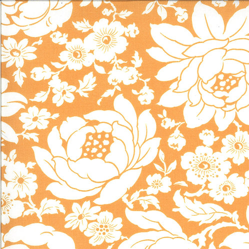 Shine On  Mums Nectarine by Bonnie and Camille for Moda Fabrics
