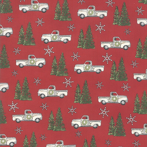 Homegrown HolidayTrucks and Trees Red By Deb Strain for Mod