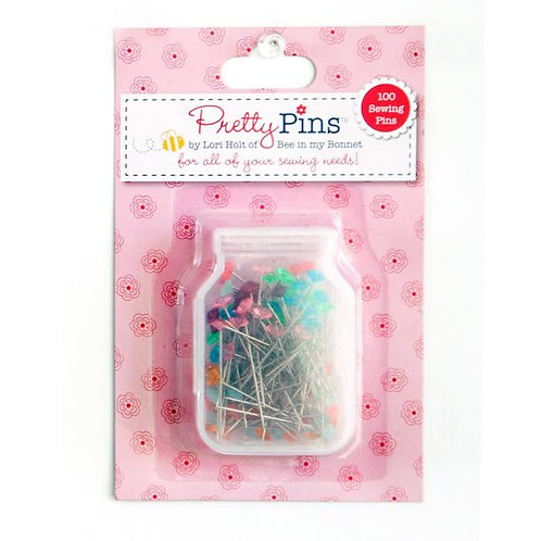 Sewing Pretty Pins 100 Count Assortment Lori Holt of Bee in my Bonnet
