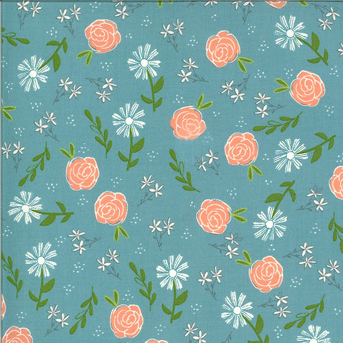 Balboa  Wild Rose Ocean By Sherri and Chelsi for Moda Fabrics