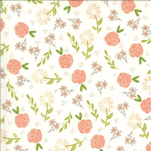 Balboa  Wild Rose Ivory By Sherri and Chelsi for Moda Fabrics