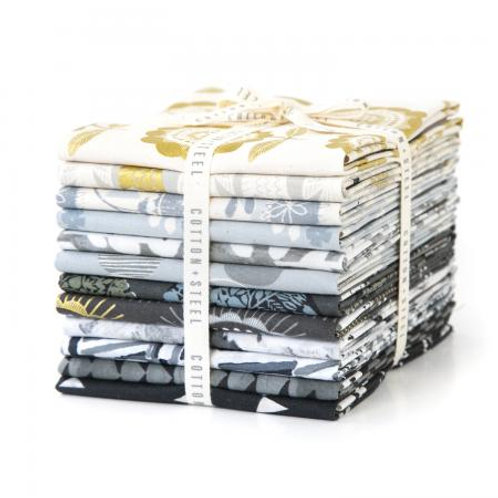 Newsprint Fat Quarter - Bundle