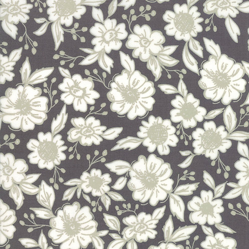 Bloomington Charcoal Flower Shop By Lella Boutique for Moda Fabric