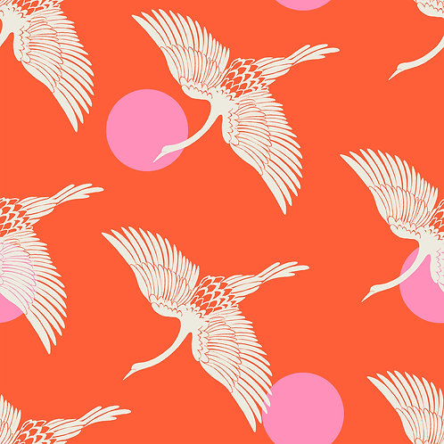 Florida | Egrets Fire by Sarah Watts for Ruby Star Society from Moda Fabrics
