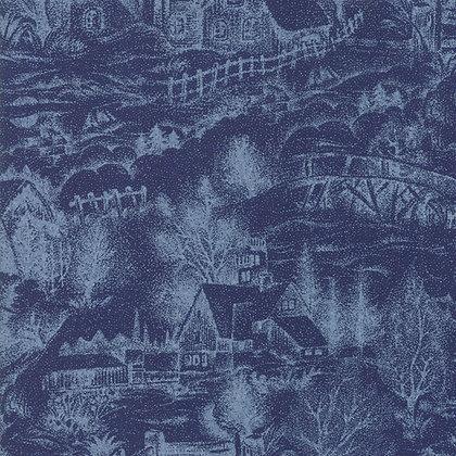 Forest Frost Glitter Fav Night By Moda Fabrics