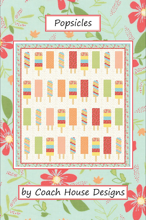 Popsicles Quilt Pattern by Coach House Designs