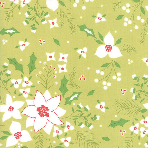 Holliberry | Poinsettia Sprig By Corey Yoder for Moda Fabrics