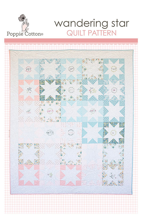Wandering Star Quilt Pattern By Poppie Cotton