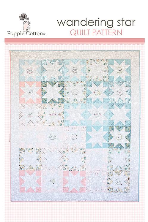 Wandering Star Quilt Pattern By Poppie Cotton