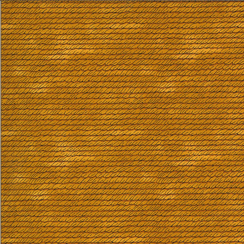Bee Grateful | Bee Skep Woven Honey Yellow by Deb Strain for Moda Fabrics