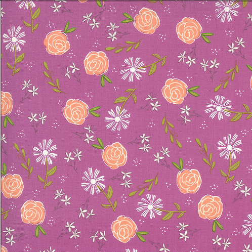 Balboa  Wild Rose Fuchsia By Sherri and Chelsi for Moda Fabrics