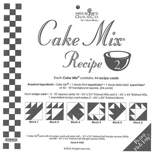 Cake Mix Recipe 2