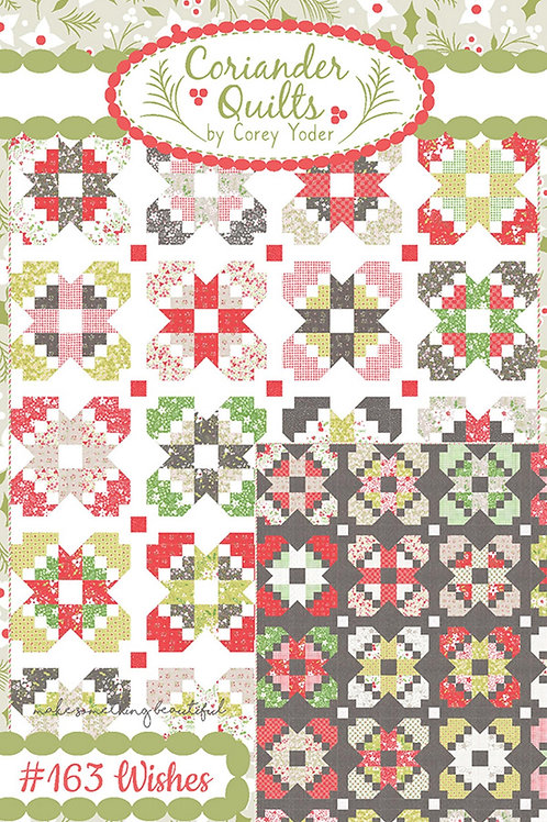Wishes Quilt Pattern Featuring Holliberry By Corey Yoder for