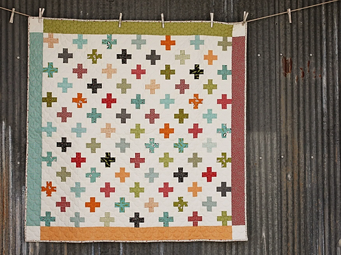 Little Dreamer Quilt Kit Featuring Animal Crackers by Sweet Water