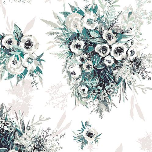 Aquarelle   Buttercups Still Life By Katrina Roccella For Art Gallery Fabrics
