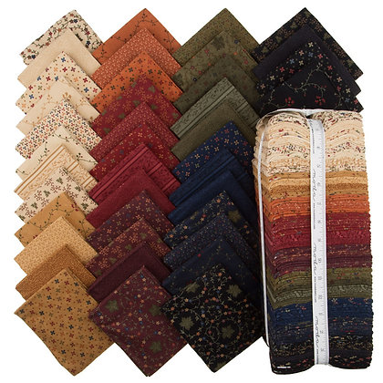 Country Road Flannel Fat Eights Bundle by Kansas Troubles Quilters