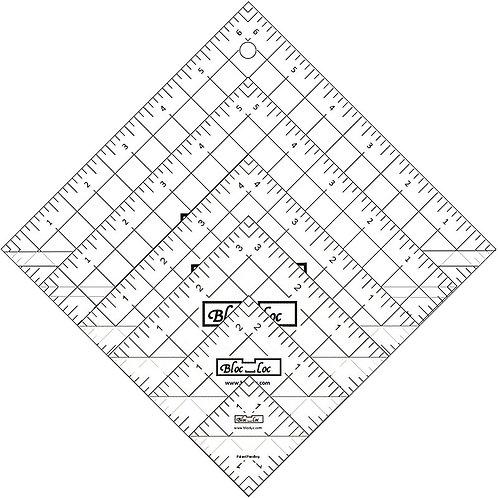 Half Square Triangle Ruler Set 1