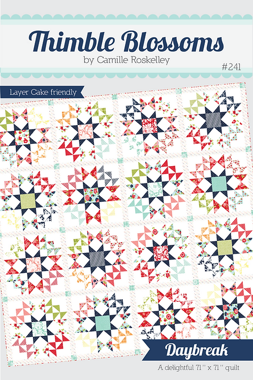 Daybreak Quilt Pattern featuring Shine On Pattern Collection By Bonnie and C