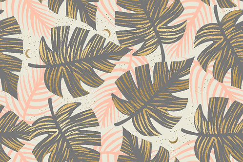 Florida | Shade Palms Slate Gray by Sarah Watts for Ruby Star Society from Moda