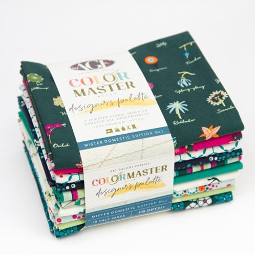 Mister Domestic Edition No. 1 Fat Quarter Bundle Color Master