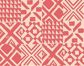Lisbon Love   Lisbon Pink by Pink Free From Paint Brush Fabrics
