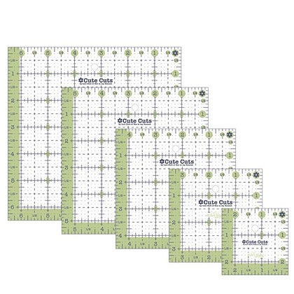 Lori Holt Cute Cuts Square Ruler Set