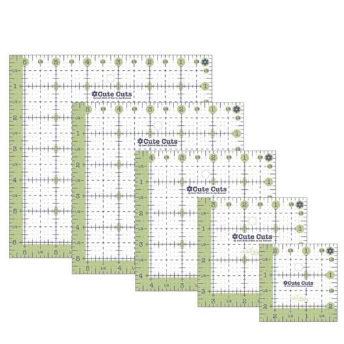 Lori Holt Cute Cuts\u2122 Ruler Set 5  Square Rulers