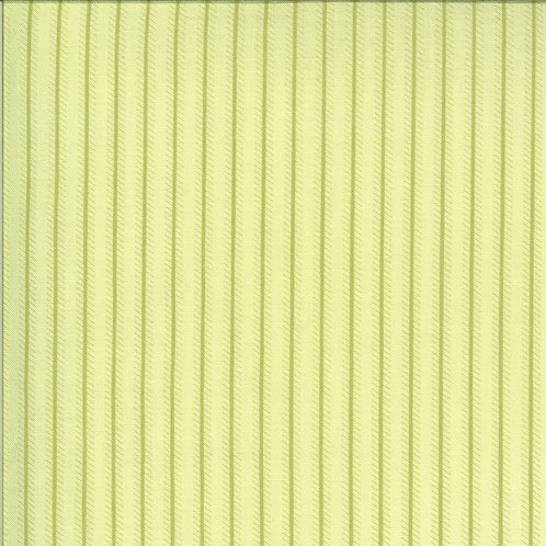 Dover Ticking Stripe Willow By Brenda Riddle Designs for Moda Fabrics