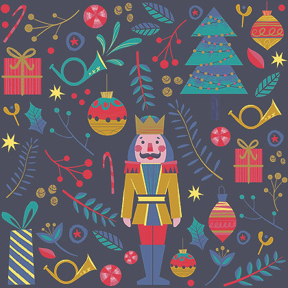 Night of the Nutcracker By Paintbrush Studio Fabrics